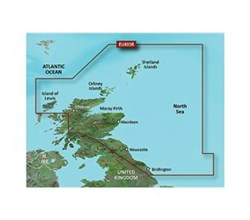 U.K. Bluechart Maps garmin bluechart g3 vision veu003r great britain northeast coast