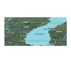 Gulf of Bothnia Bluechart Maps  garmin 010 c0816 00