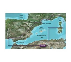Spain Bluechart Maps garmin bluechart g3 vision veu010r spain mediterranean coast