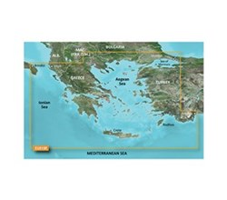 Greece Bluechart Maps garmin bluechart g3 vision veu015r aegean sea of marmara