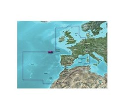 Garmin East Coast United States BlueChart Water Maps garmin bluechart g3 vision   veu722l   europe atlantic coast