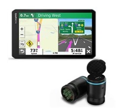 Garmin Trucking GPS Systems garmin dezl otr700 bundle