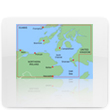 Garmin Europe Bluechart Water Maps Garmin Europe Bluechart Water Maps U.K. Bluechart Maps
